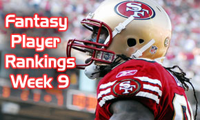 Fantasy Player Rankings Week 9