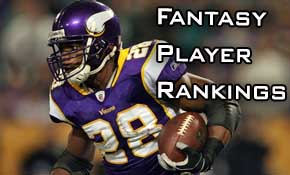 Fantasy Player Rankings Week 11