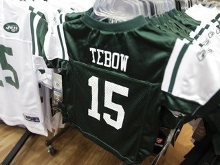 Jets Tebow Jersey
