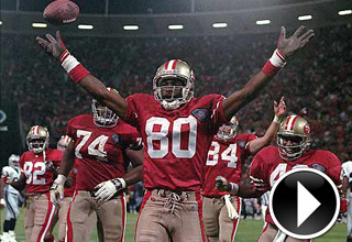 "Jerry Rice will take A.J. Jenkins to ""the hill"""