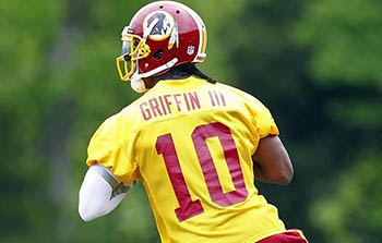 Robert Griffin III's fantasy value