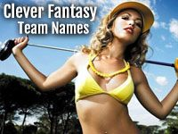 Clever Fantasy Football Team Names