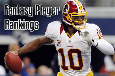 fantasy player rankings