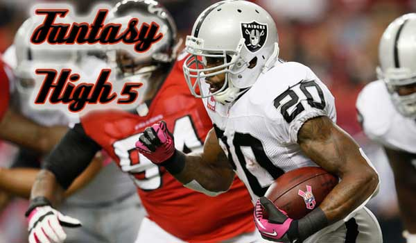 Fantasy High 5-Week 14