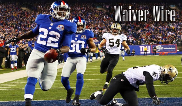 Waiver Wire Week 15