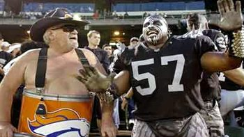 Raiders vs. Broncos