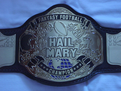 Fantasy Football Belt Trophy http://gridironexperts.com/fantasy-football-trophies