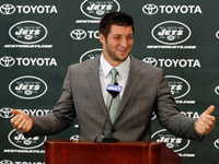Tebow Traded