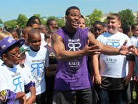 Ray Rice Football Camp
