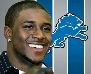 Reggie Bush in Detroit