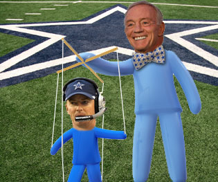 Jerry Jones Strips Garrett Of Play-Calling Duties -Gridiron Experts
