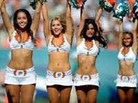 Miami Dolphins Cheerleader Gallery