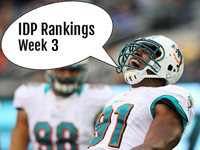 IDP Rankings Week 3