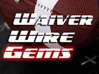 Waiver Wire Pickups