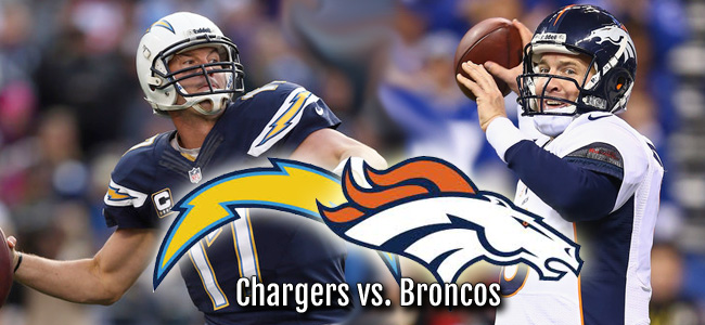 San Diego Chargers at Denver Broncos (-10.0)