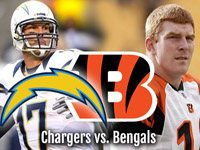 NFL Playoff Preview Chargers at Bengals