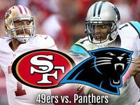 NFL Playoffs 49ers at Panthers