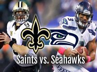NFL Playoffs Saints at Seahawks