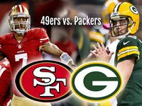 NFL Playoffs 49ers at Packers