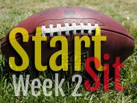 Start'em Sit'em Week 2