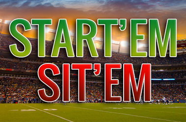 Start'em Sit'em week 4