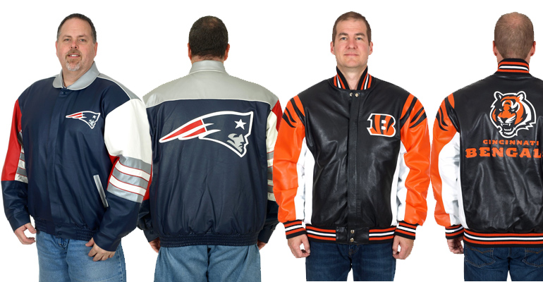 NFL Leather Jackets