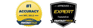 Fantasy Pros Most Accurate Expert 2012