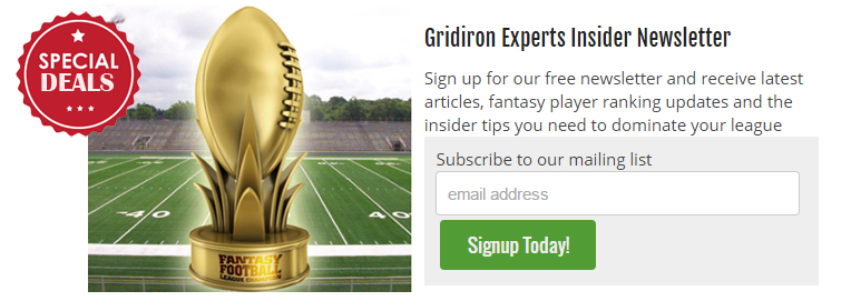 Gridiron Experts Insider Newsletter