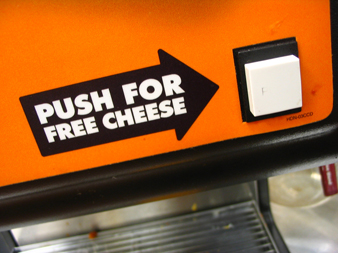push for free cheese