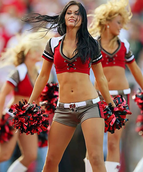 The Best Tampa Bay Buccaneers Cheerleaders