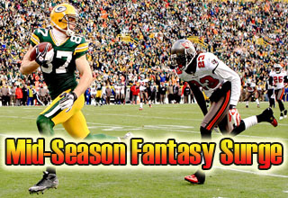 Best 2011 Fantasy Football WR's Second Half