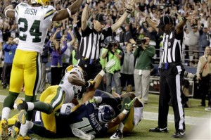 Blown Call - Green Bay Packers vs. Seattle Seahawks Monday Night Football