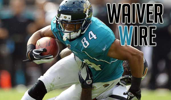 Waiver Wire Pickups Week 11 12