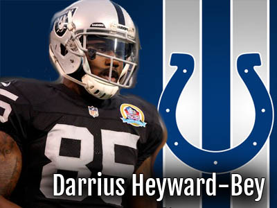 Darrius Heyward-Bey Signs with Colts