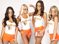 Hooters Fantasy Contest