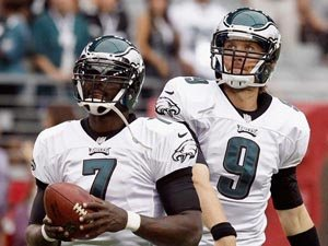 Mike Vick vs Nick Foles