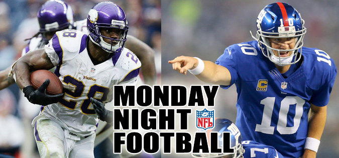 MNF Vikings at Giants