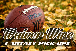 Week 13 Waiver Wire Pickups