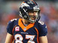 Fantasy Forecast: Wes Welker Out vs. Chargers 5