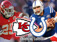 Kansas City Chiefs vs. Indianapolis Colts -2.5