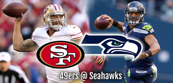 NFL Playoffs 49ers at Seahawks