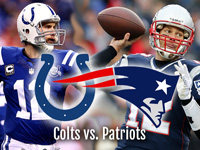 NFL Playoffs Colts Patriots