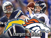 San Diego Chargers at Denver Broncos