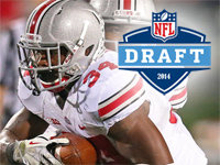 Carlos Hyde NFL Draft Stock 9