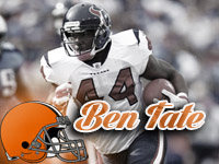 Ben Tate Fantasy Outlook in Cleveland 12
