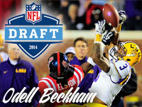 Odell Beckham Jr. NFL Draft Stock 7
