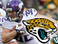 Toby Gerhart Signs with Jaguars 32