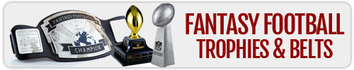 Fantasy Football Trophies and Belts