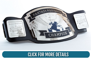 Fantasy Football Trophy Belt