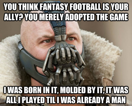 Fantasy Football Meme fantasy football championships start with a great draft